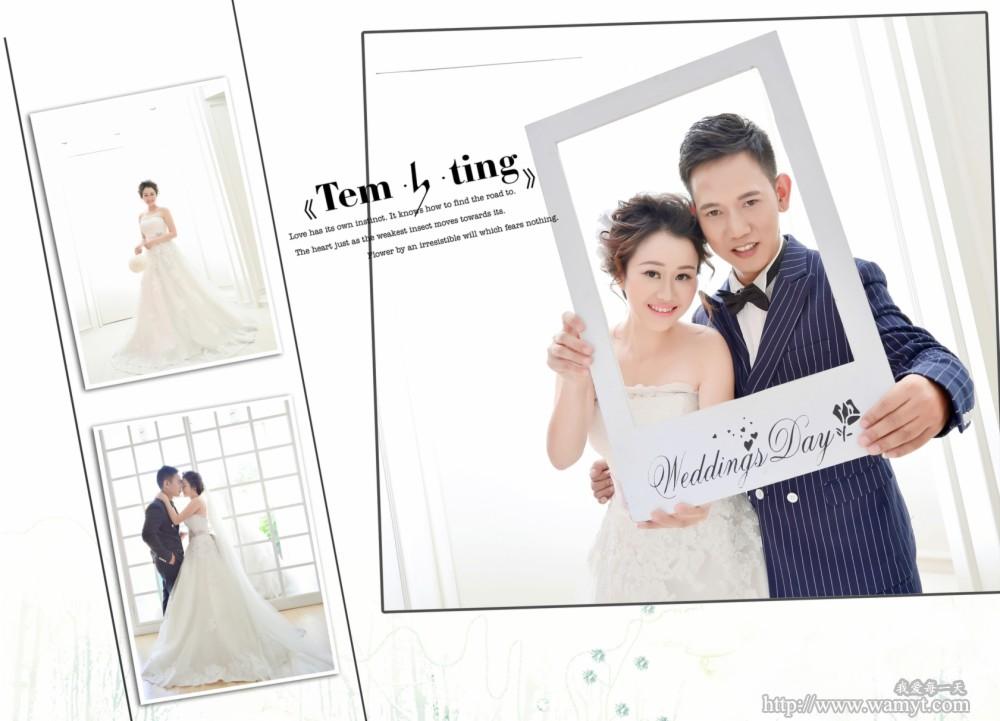婚纱照排版模板图片下载  多相册排版模板_相册排版模板素材_杂志排版