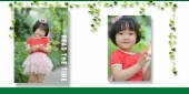 承接影楼儿童相册排版设计 单片精修